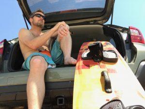 Subaru Outback - Kiteboarding