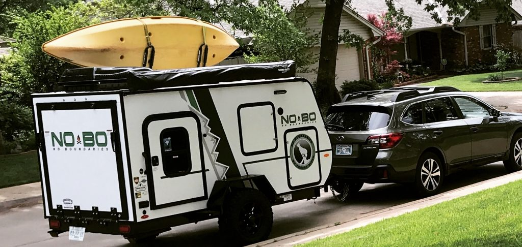 NoBo 10.6 - Forest River - Toy Hauler Trailer - Rowdy Outdoor