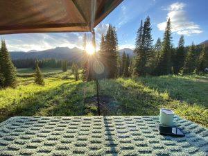 Colorado Camping - Telluride - Rowdy Outdoor - Batwing, No Boundaries 10.6