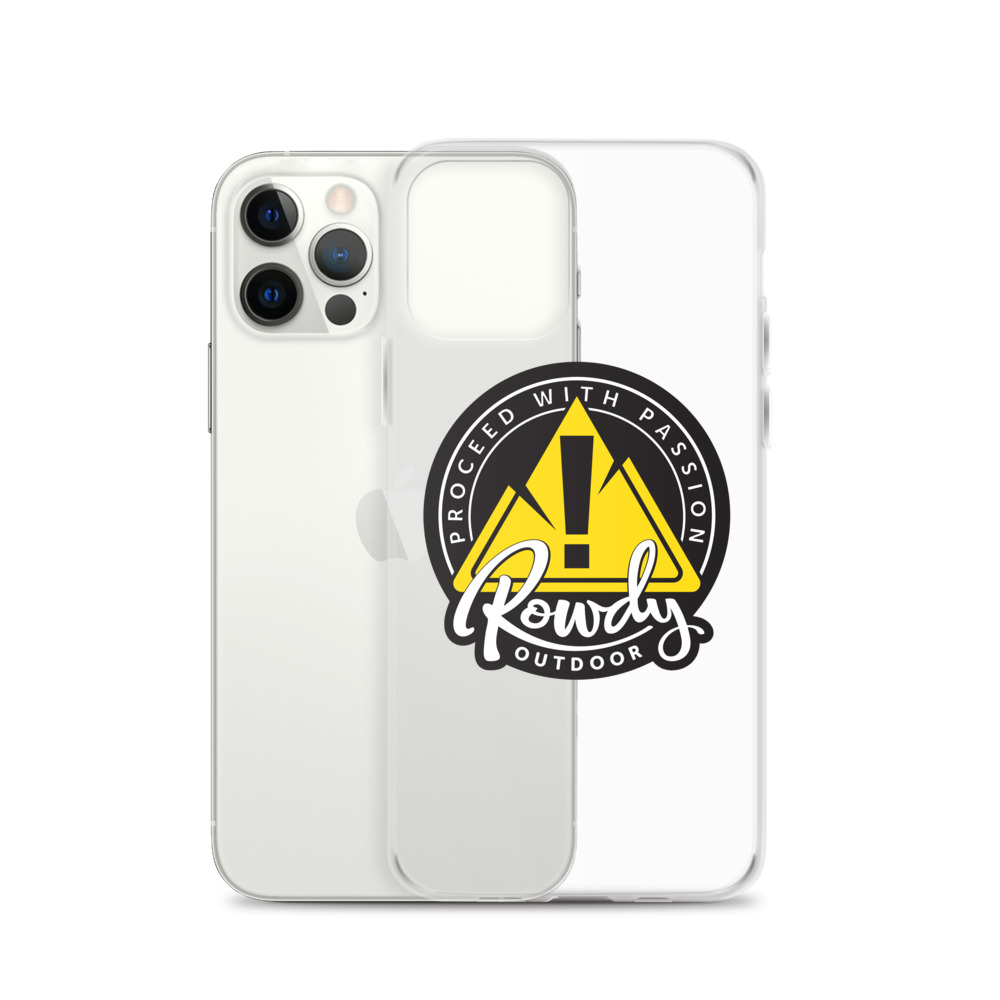 Rowdy Outdoor iPhone Case Clear
