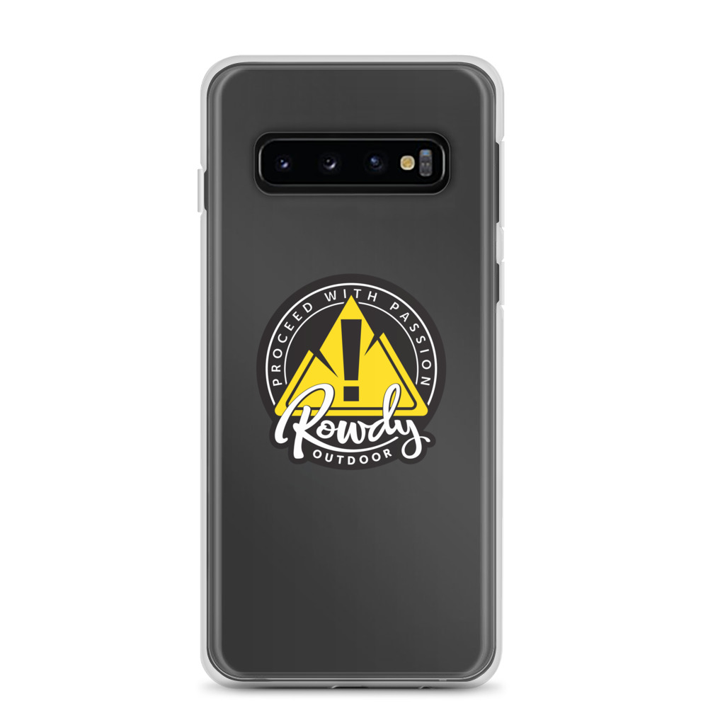 Samsung Phone Case Clear - Rowdy Outdoor