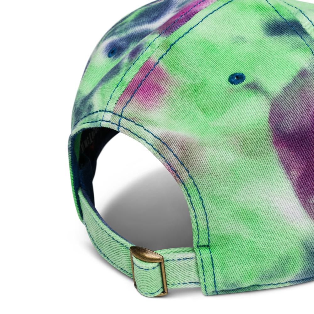 Tie Dye Ocean Front Hat - Rowdy Outdoor Logo
