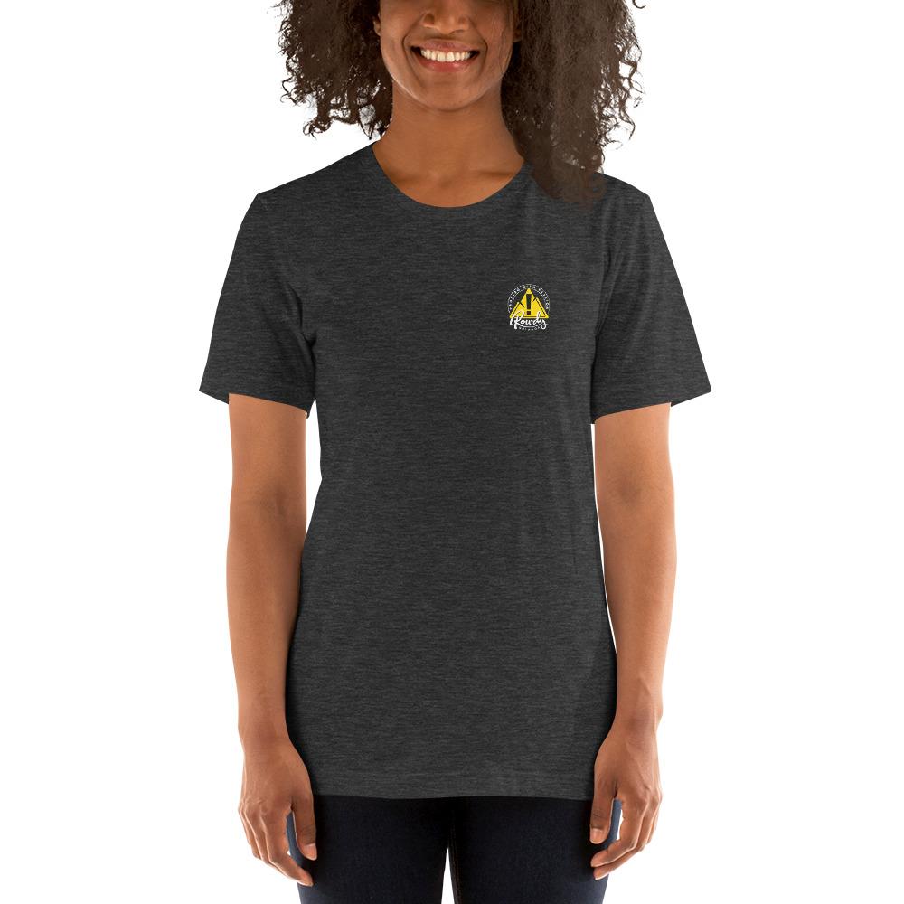 Difficult Paths Mountain T-Shirt - Rowdy Outdoor Women - Gray