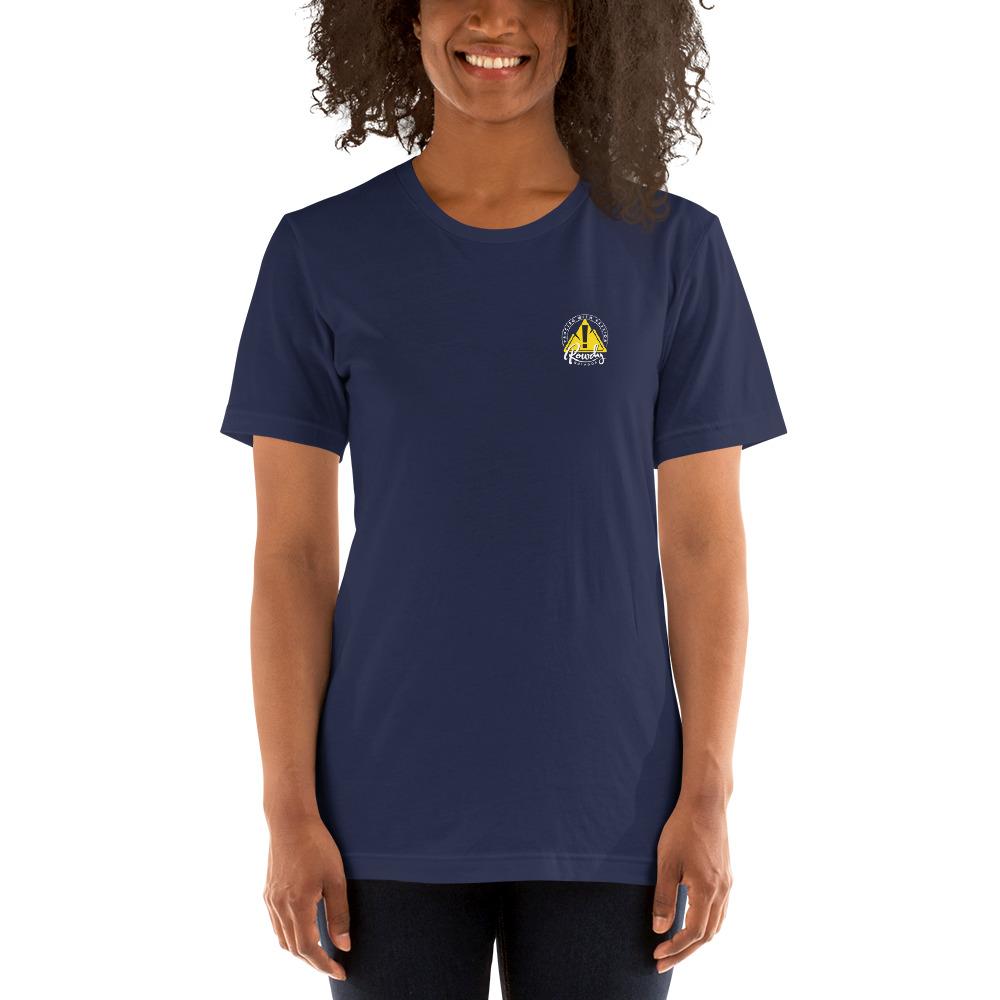Difficult Paths Mountain T-Shirt - Rowdy Outdoor Women - Navy