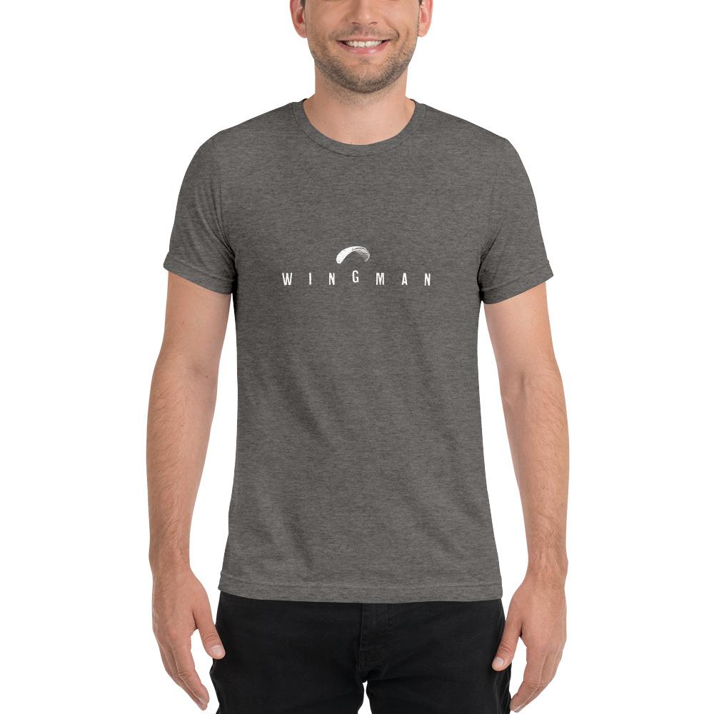 Wingman - Rowdy Outdoor - Short Sleeve Tee - Grey Triblend