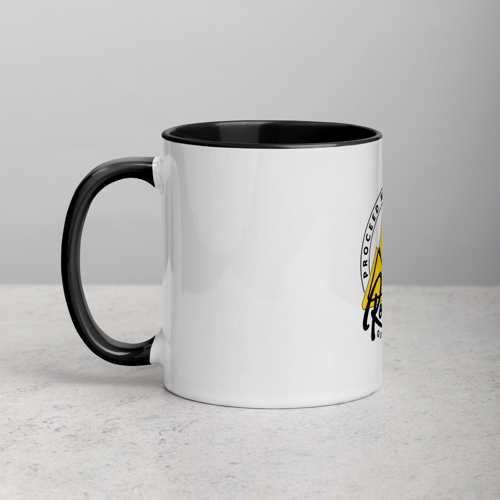 Rowdy Outdoor Mug - Color on the Inside - Black
