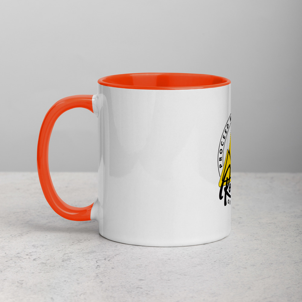 Rowdy Outdoor Mug - Color on the Inside - Orange