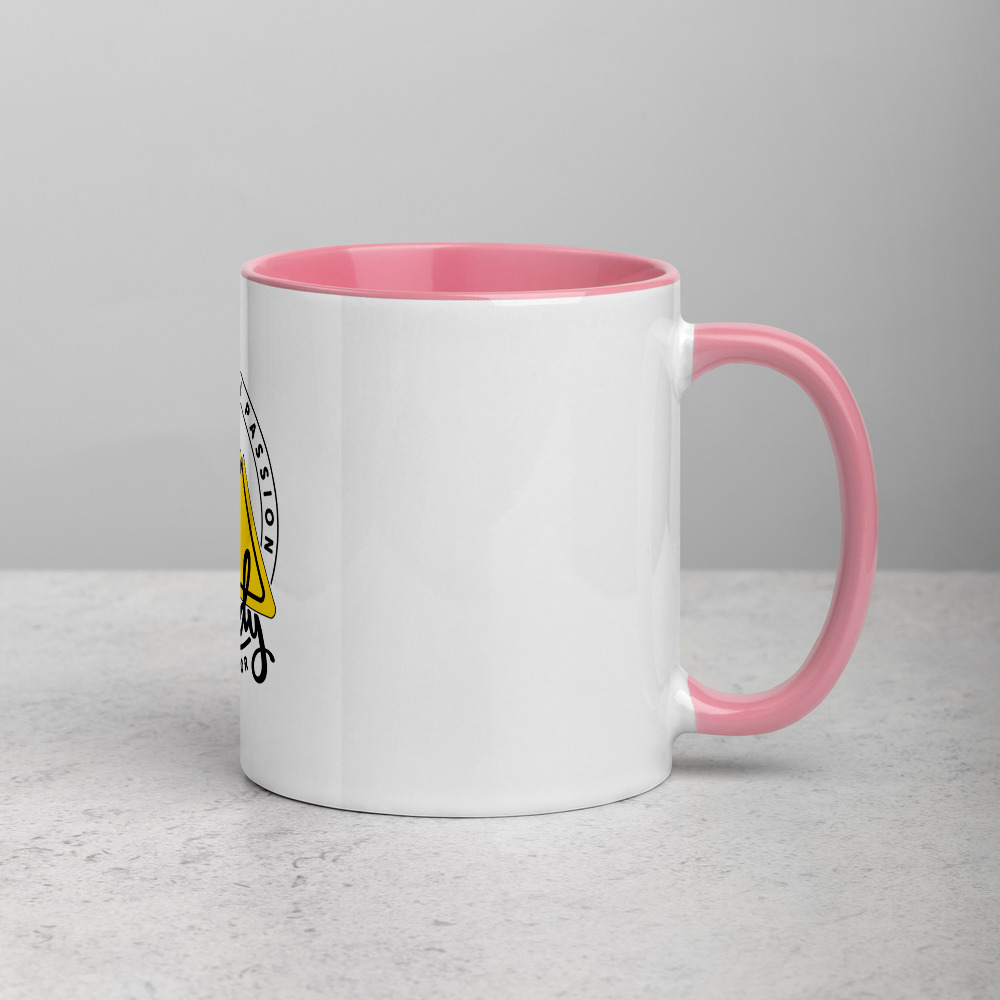 Rowdy Outdoor Mug - Color on the Inside - Pink