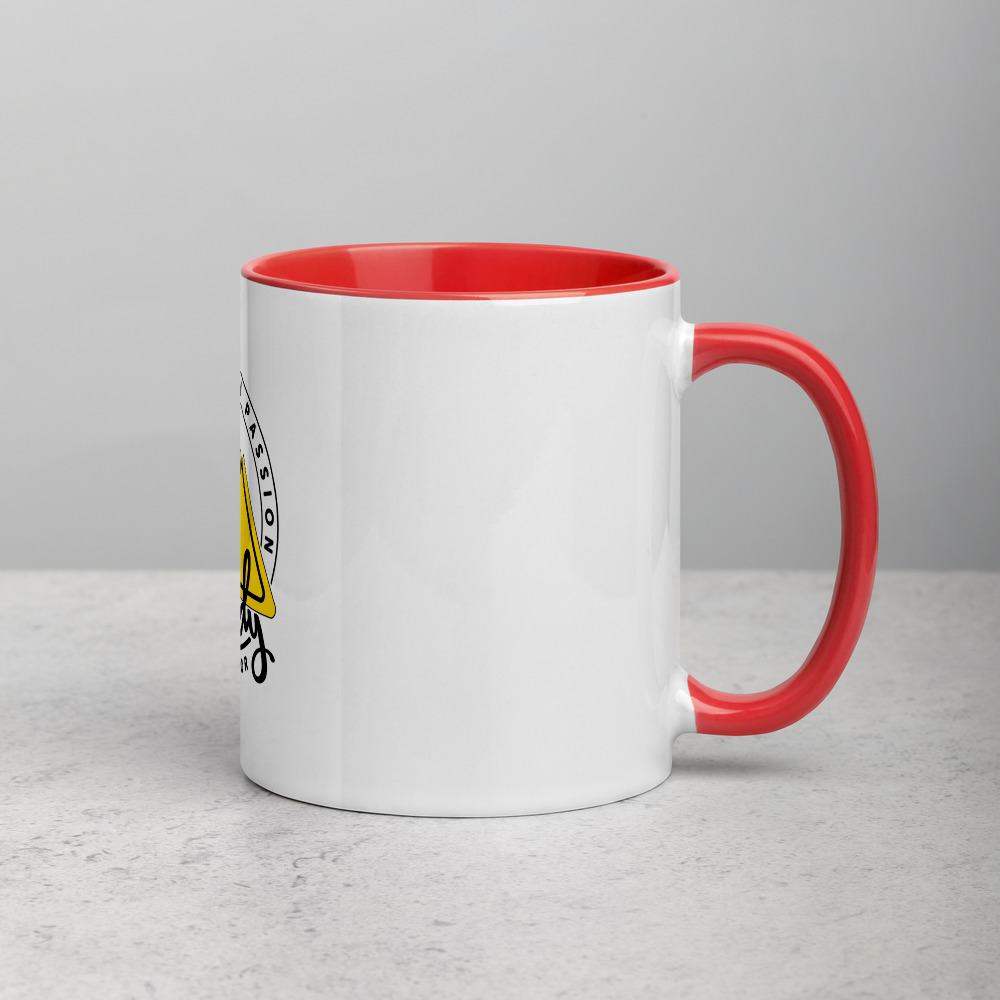 Rowdy Outdoor Mug - Color on the Inside - Red